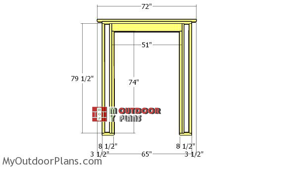 Side-wall-with-door-frame