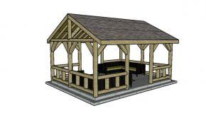 15×20 Pavilion Plans
