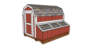 7 ft Tall Barn Chicken Coop Plans