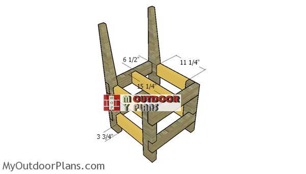 Assembling-the-chair-frame