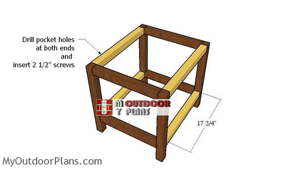 Assembling-the-frame-of-the-table