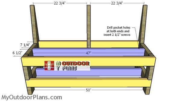 Assembling-the-frames-for-the-bench