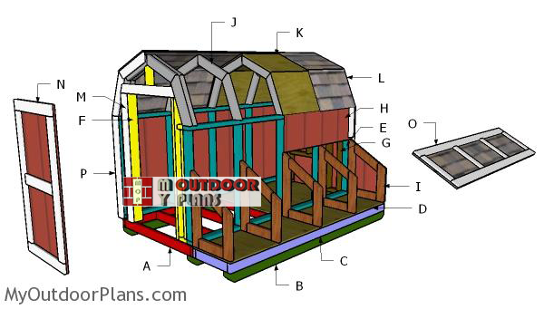 Building-a-7-ft-tall-chicken-coop
