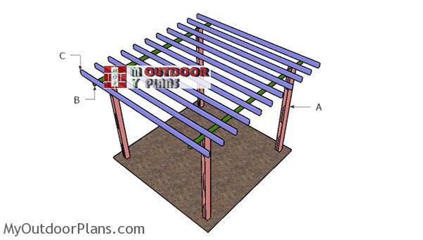 Building-a-8x8-pergola