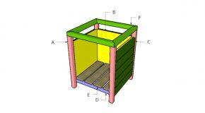Modern Square Planter Plans