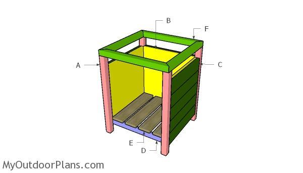 Building a modern planter box
