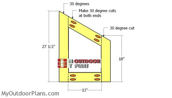 Building-the-nesting-box-frames