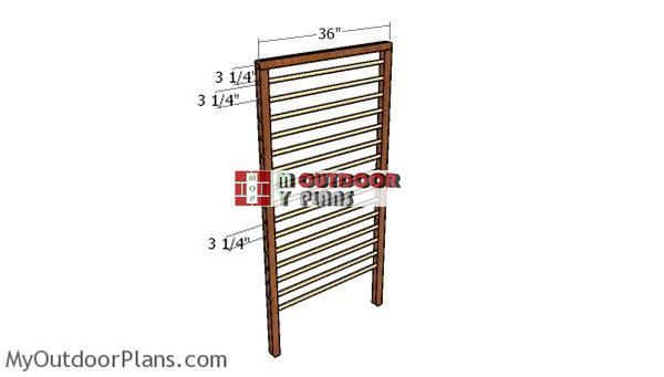 Building-the-wood-trellis