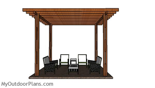 Cheap Pergola - Free DIY Plans