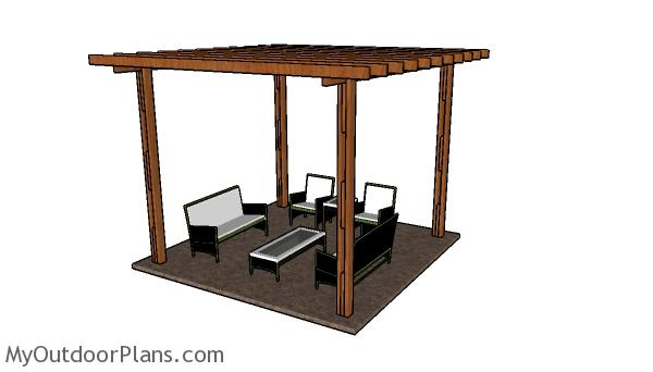 Cheap Pergola – Free DIY Plans