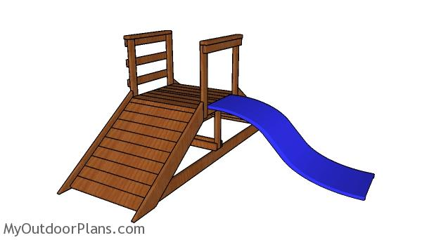 Children Playset with Slide Plans