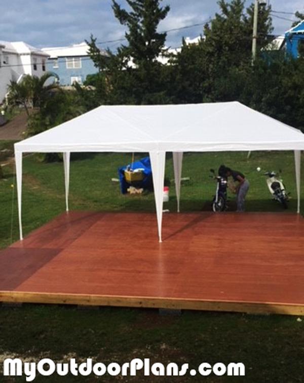DIY 20x20 Garden Deck