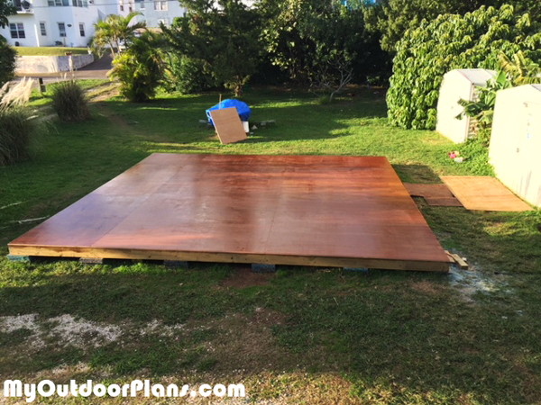 Diy 20x20 Garden Deck Myoutdoorplans Free Woodworking