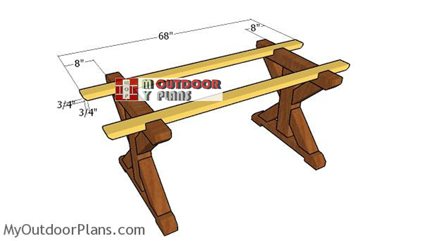 Fitting-the-table-supports