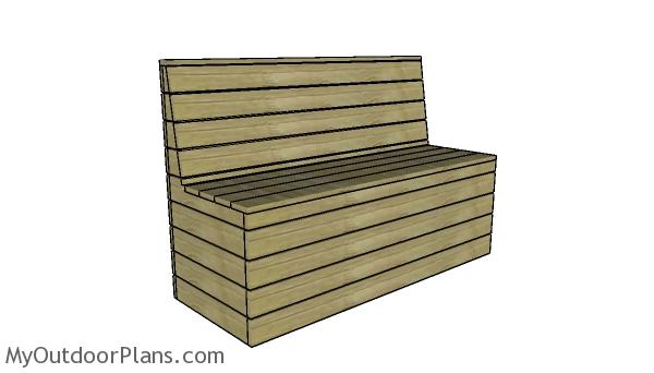 Modern Outdoor Bench Plans