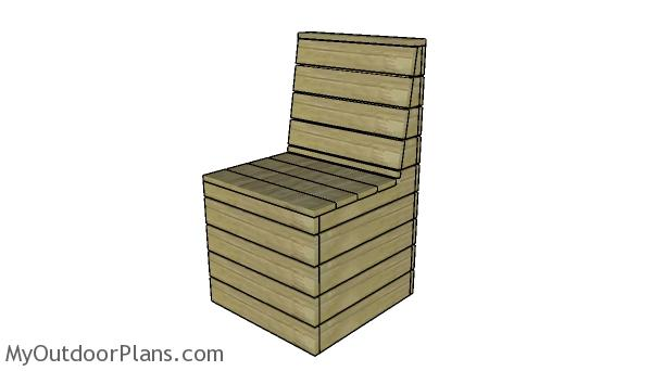 Modern Outdoor Chair Plans