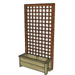 Free Planter Box with Trellis Plans