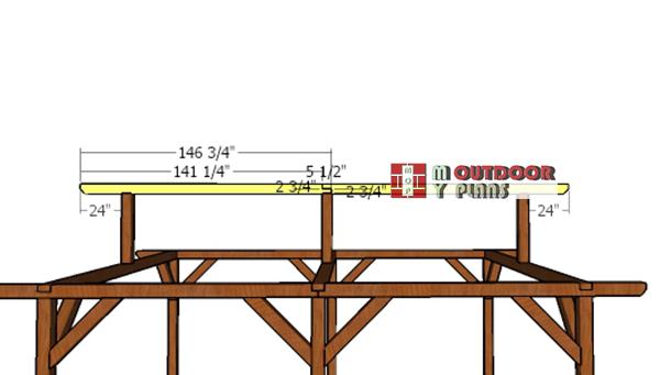 Ridge-beam