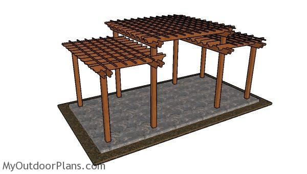 Tiered Pergola Plans Myoutdoorplans Free Woodworking
