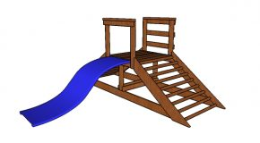 Kids Playset with Slide Plans