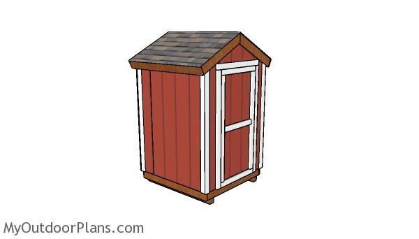 5x5 shed Plans