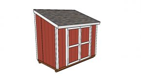 6×10 Lean to Shed Plans