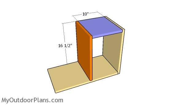 Assembling the large storage unit