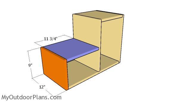 Assembling the storage unit