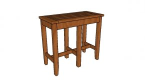 Bar Stool Bench Plans