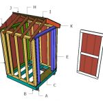 5×5 Shed Gable Roof Plans