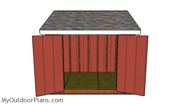 Building a 6x10 lean to shed