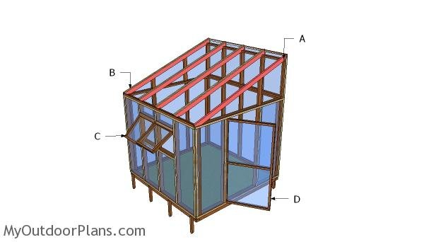 8x8 Lean to Greenhouse Roof Plans | MyOutdoorPlans | Free ... Plans For A Lean To Greenhouse on lean to off house, lean to greenhouses for backyard, lean to greenhouse ideas, lean to building plans, lean to trellis plans, lean to barn plans, lean to porch plans, lean to pavilion, lean to greenhouses cheap, shed plans, lean to frames, lean to playhouse plans, log lean to plans, lean to pergola plans, lean greenhouse frame plans, lean to hydroponic greenhouse, lean to green plans, lean to glass greenhouses, sears kit home plans, lean to deck plans,