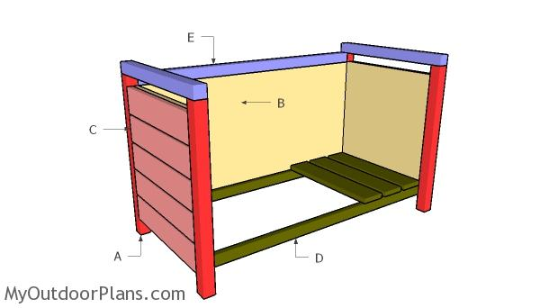 Building a modern planter box