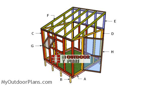 Building-a-small-8x8-greenhouse