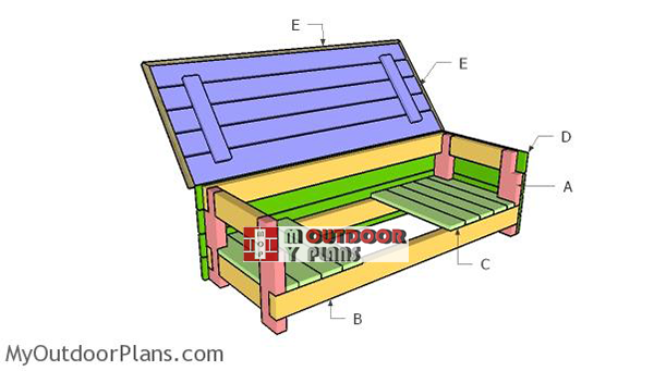 Building-a-storage-bench