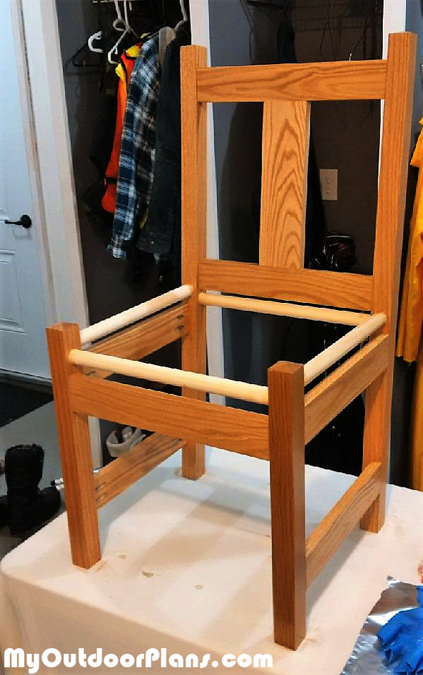 Building-the-chair-frame