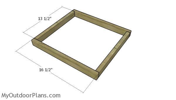 Building the planter frames