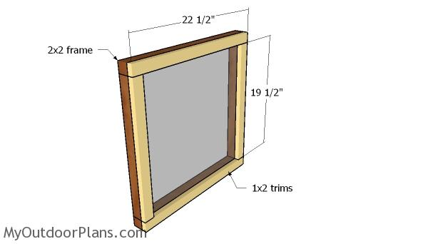 Building the vent windows
