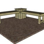 Corner Bench with Planter Box Plans