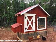 DIY 4×8 Chicken Coop