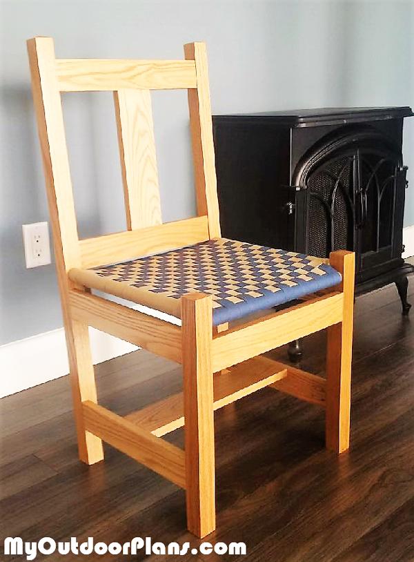 DIY Shaker Inspired Side Chair