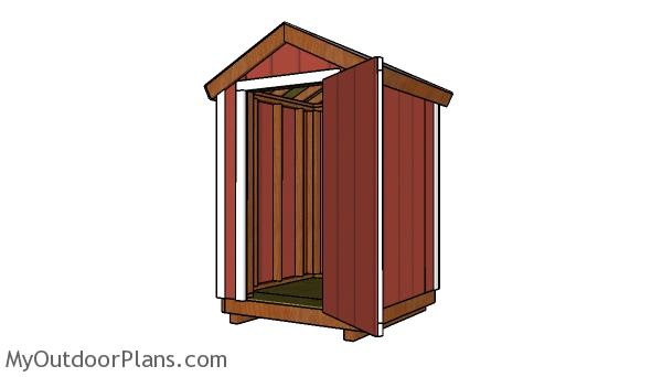 Free 5x5 Gable Shed Plans