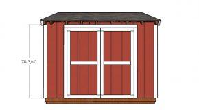 6×10 Shed Door Plans