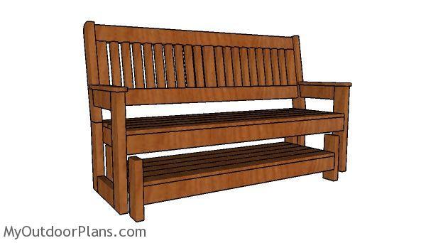 Glider Bench Plans Myoutdoorplans