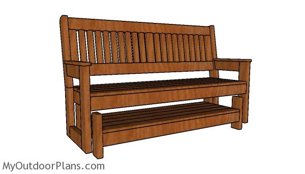 Glider Bench Plans - Free Plans