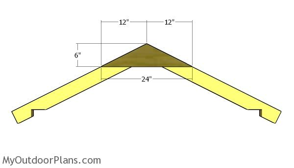 5x5 Shed Gable Roof Plans Myoutdoorplans Free