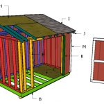 6×14 Lean to Shed Roof Plans