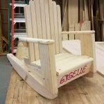 DIY Kids Adirondack Rocking Chair