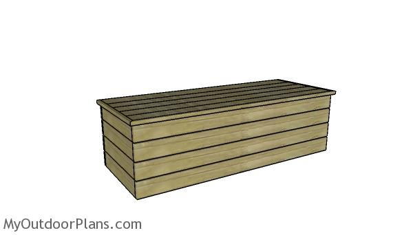 Modern Outdoor Storage Bench Plans Myoutdoorplans Free