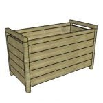 Modern Rectangular Planter Box Plans